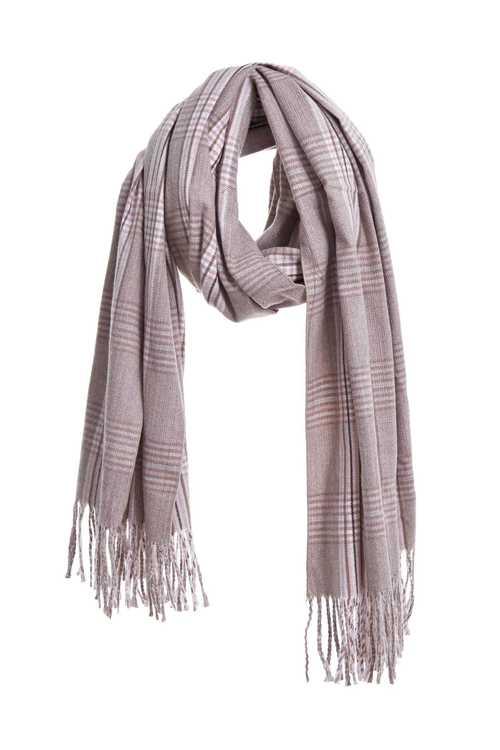 經典格紋圍巾