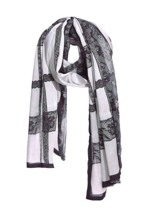 雙面蕾絲圍巾
