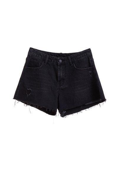 設計感流行牛仔短褲